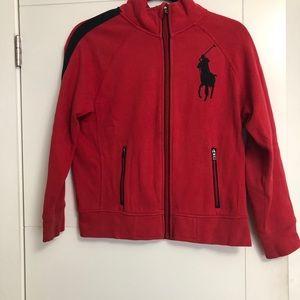 POLO Ralph Lauren/Boy's/10-12/Red /Sweater
